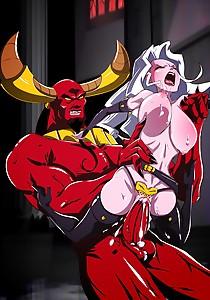 Lady Death vs Lucifer