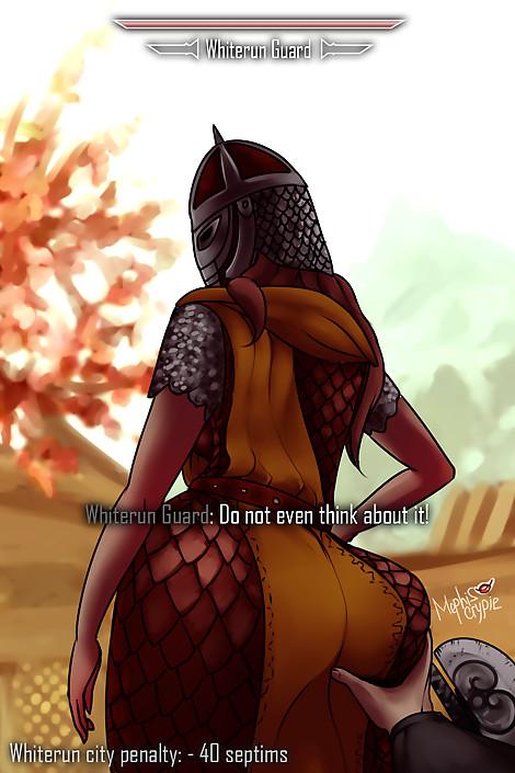 SkyrimGirls 15 Whiterun Guard