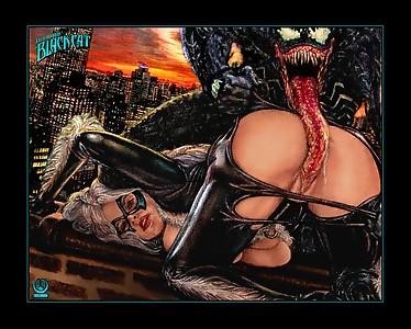 Wishmasterz Black Cat Venom Felicia Hardy