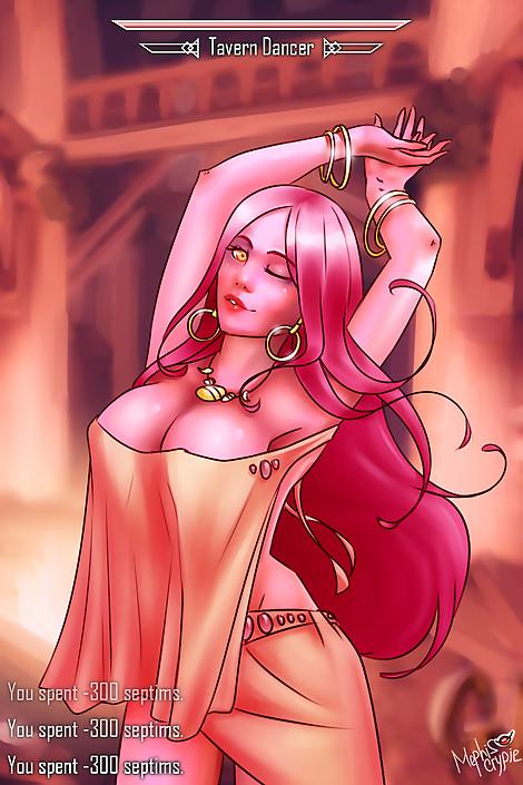 SkyrimGirls 6 Tavern Dancer