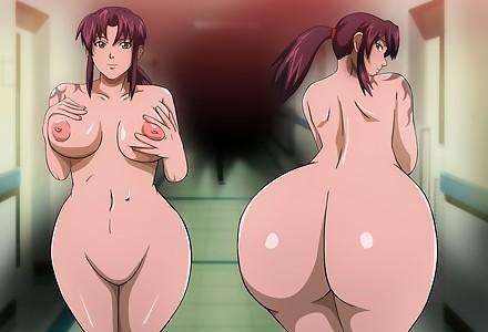 blacklagoon black lagoon revy mr123goku123 ass boobs breast