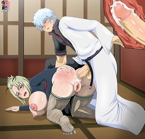 Tsukuyo x Gintoki