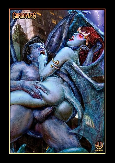 Wishmasterz Gargoyles Demona Goliath