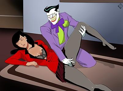 Lois Lane Joker Dc Superman Animated series Batman fingering