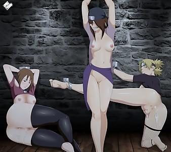 Captive bitches from Suna
