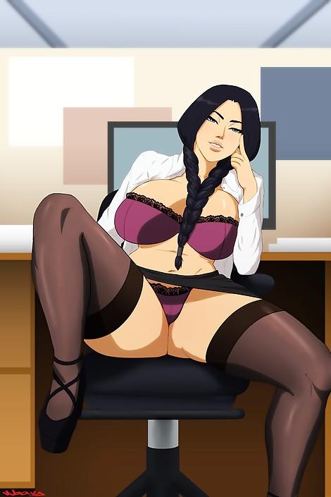 retsu bleach ecchi sexy lingerie