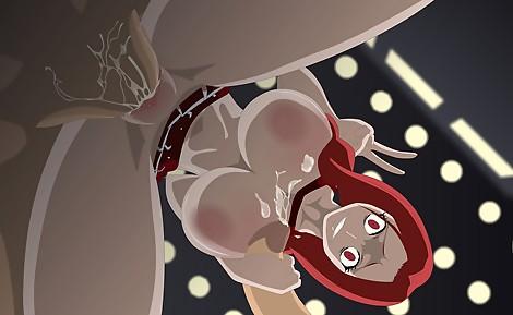 flare cheerleader from below