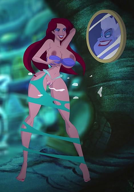Ariel cumshot hentai