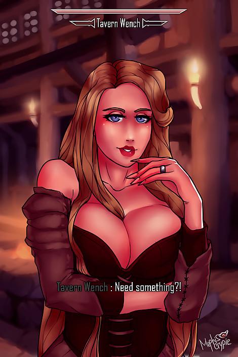 SkyrimGirls 20 Tavern Wench