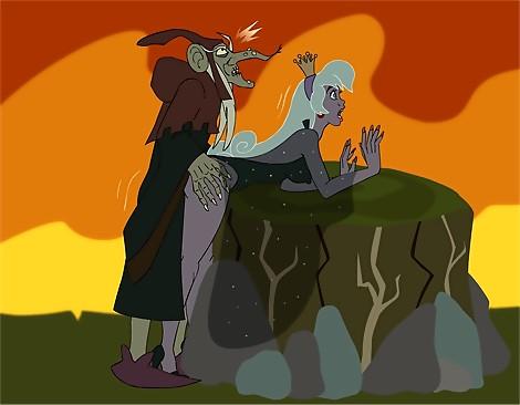 Princess Daphne And Warlock