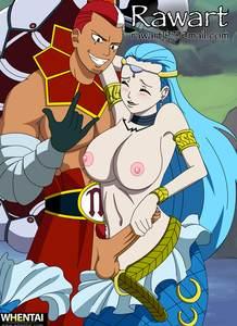 Animated Gif Animation Fairy Tail Aquarius Scorpio Handjob rawart