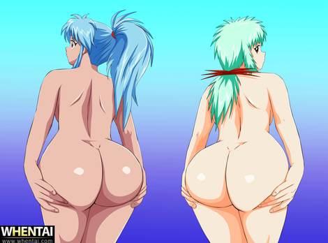 yu yu hakusho botan yukina ass animated gif mr123goku123