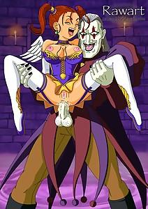 Dragon Quest VIII Jessica vs Dhoulmagus