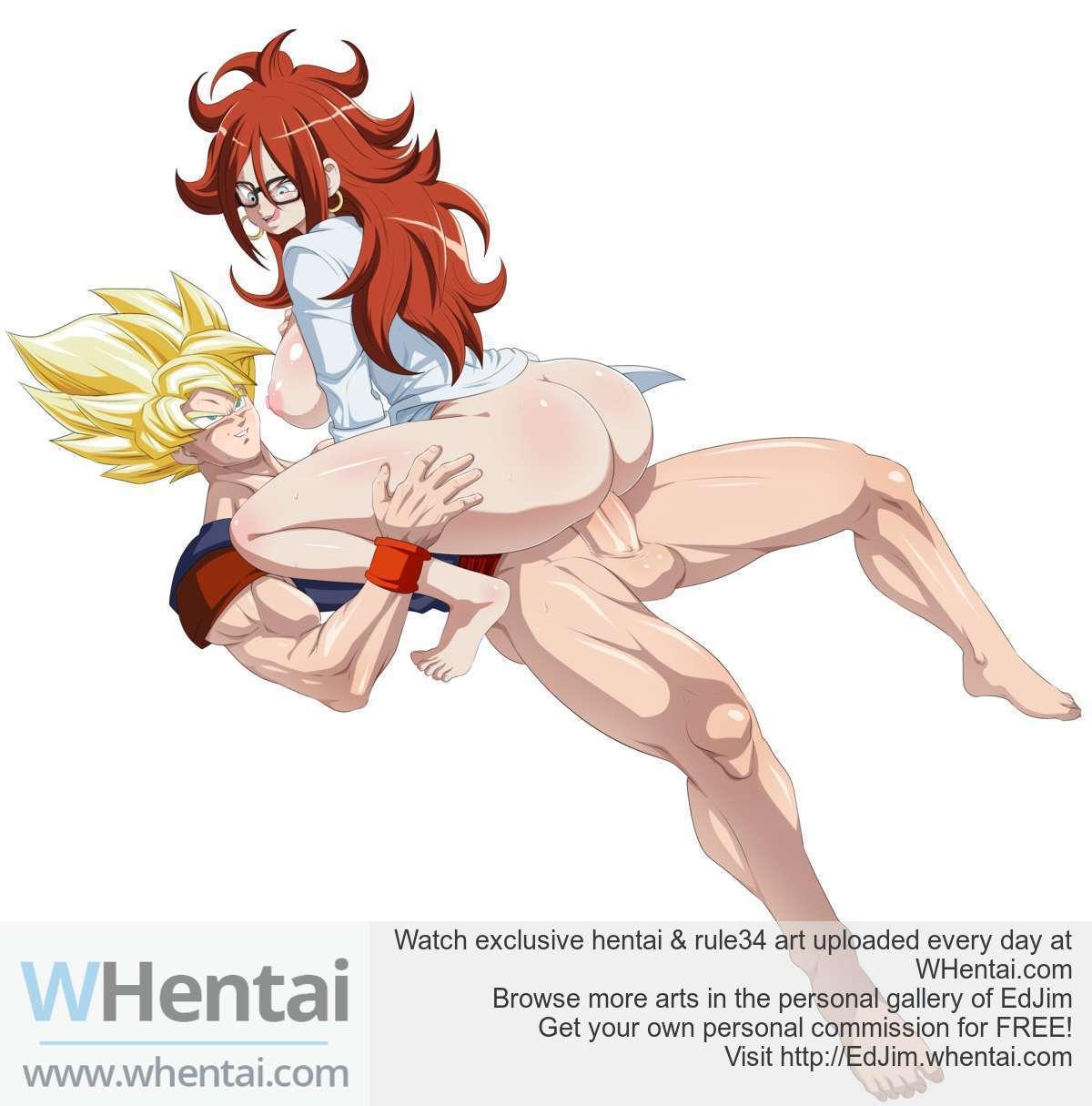 Android x Clone Goku