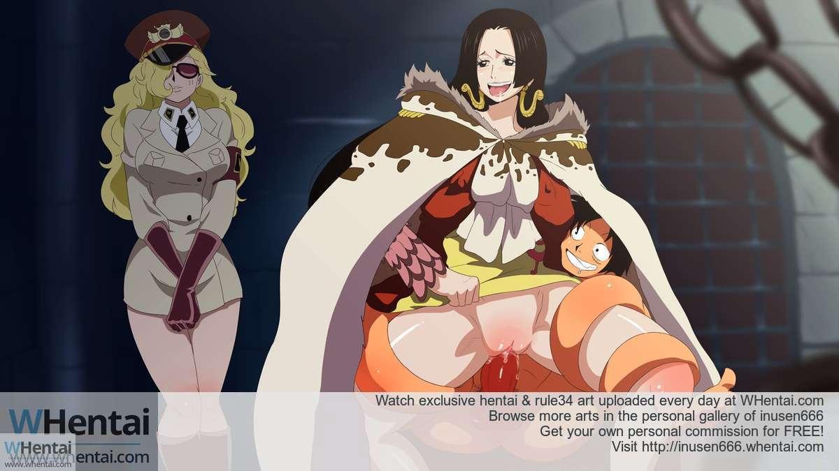 Boa Hancock And Luffy Hentai Ideal boa hancock (one piece) hentai