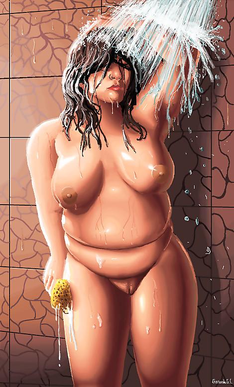 BBW Shower MS Paint Pixel art