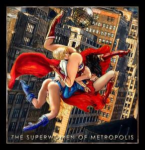 Wishmasterz Supergirl Wonder Woman Powergirl superhero