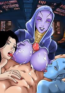 Mass Effect  Titfuck