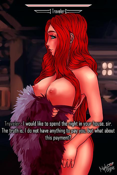 SkyrimGirls 23 Traveler bonus