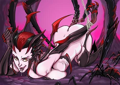 RenX  LoL  League of Legends  Elysa Lol  Elysa  Spiders  Spider