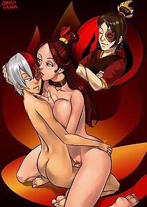 sketch lanza hentai boobs tits kiss avatarMother Love Shouto Todoroki My Hero Academia mom Zuko Ursa  Shouto feel better positionSketch