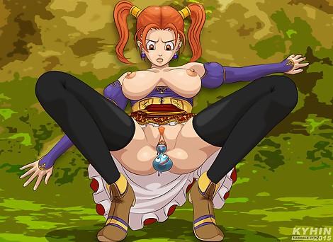 Jessica Albert Dragon Quest VIII Heroes big tits pussy ass creampie stockings Kyhin