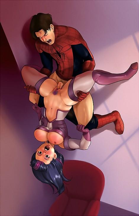 spiderman  twilight sparkle