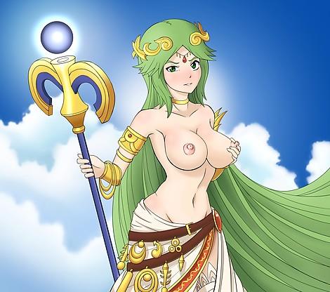 Palutena topless