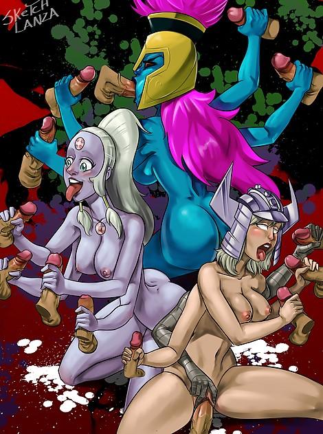 sketch lanza boobs butt ass nude naked fanart sexy hentai cumshot porn Armed and Dangerous  Spiral MARVEL Comics Pandora Danny Phantom Opal Steven Universe  multiple handed armed women gangbang handjobs
