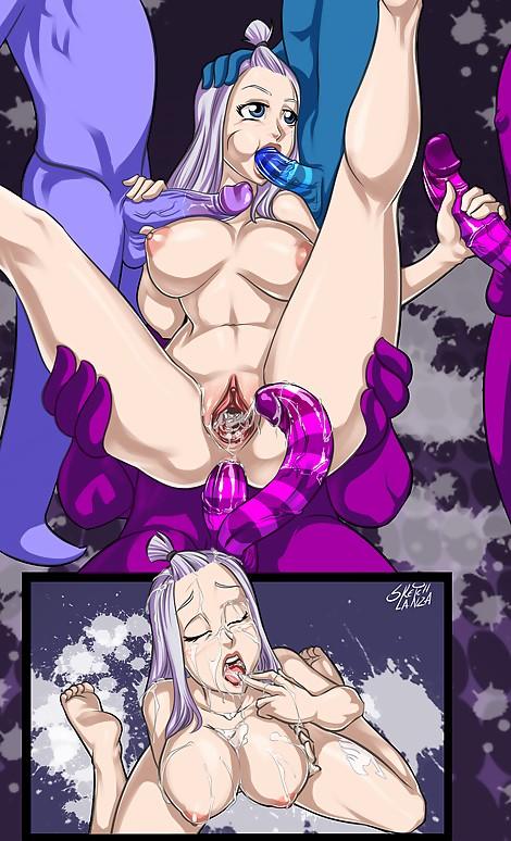 bukkake mirajane tartarus demons anal douple penetrated boobs handjob blowjob tits sketch lanza