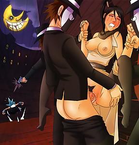 soul eater black star al capone tsubaki nakatsukasa  sex hentai porn