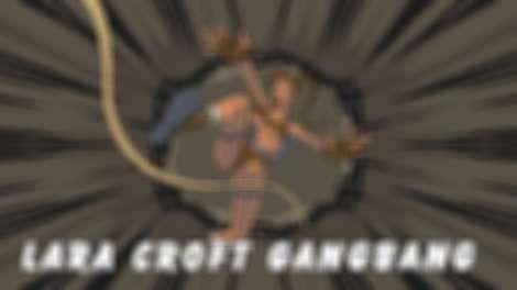 Lara Croft Gangbang game