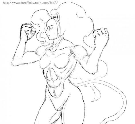 Felicia muscle test