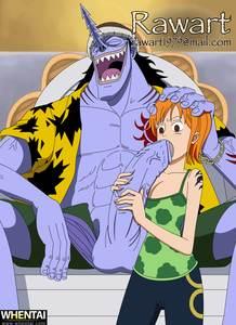 Animation  animated  gif  One Piece  Nami  Arlong  Blowjob  rawart