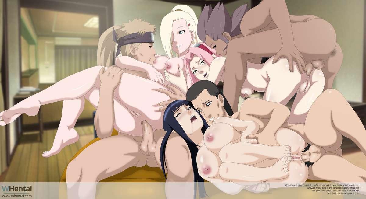 Fathers Day Ino Sakura Hinata version