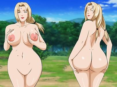 naruto tsunade mr123goku123 ass boobs