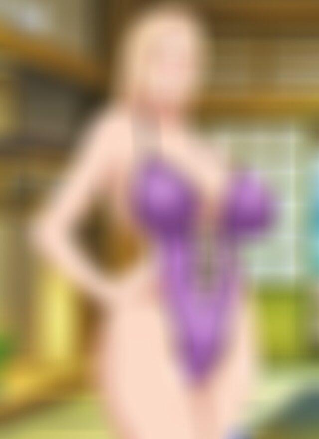 Tsunade wearing hot slutty lingerie