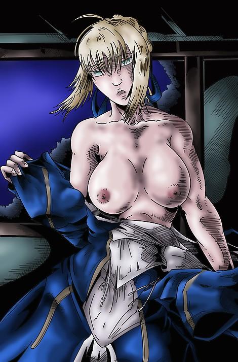 saber  fate stay night  king  strip  fate zero