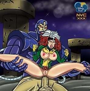 Rogue  Apocalypse    Anal  BDSM  X Men  Red Head  d Sex