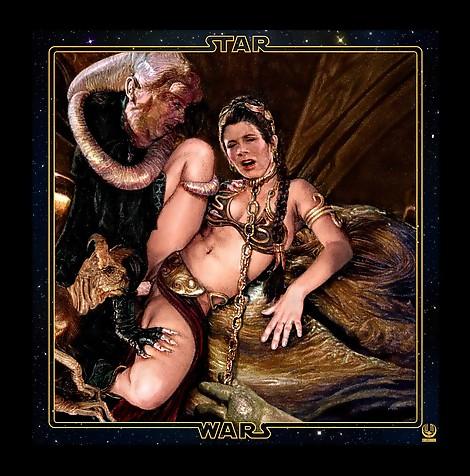 Wishmasterz Star Wars Princess Leia Organa Bib Fortuna Jaba the Hutt slave